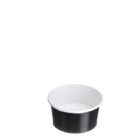 TYPE 80 90ml Ice Cream Cup - Black